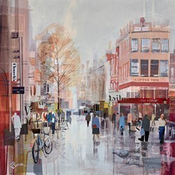 Heart of Leeds by Tom Butler -  sized 24x24 inches. Available from Whitewall Galleries